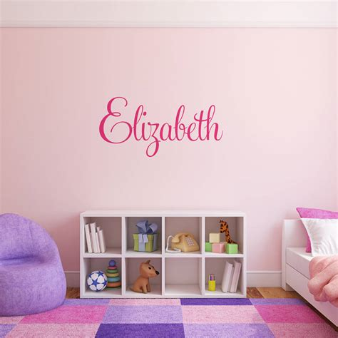 names stickers for wall personalised name wall stickers by parkins interiors