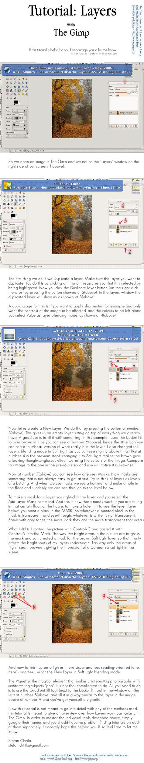 gimp tutorial on layers grandview photo