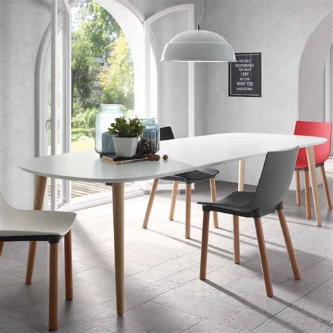 white top dining table extendable wooden dining table with white top ian