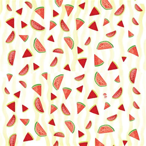 pattern fruit tumblr hipster summer fruits wallpaper quotes google search