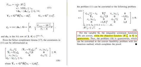 the objective function f f 2 is quasiconvex in the optimization why mathematics stack
