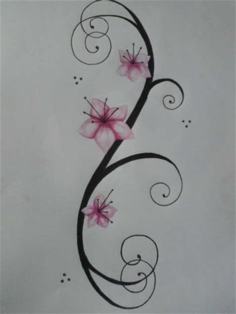 tatuaggi rami con fiori tatuaggi fiori tatuaggi e piercing donnee it