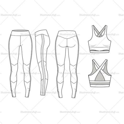42 Best Images About Technical Drawing Sport On Pinterest Technical Flat Template