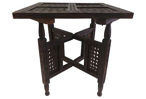 folding dining table india indian folding table indian interlude pinterest