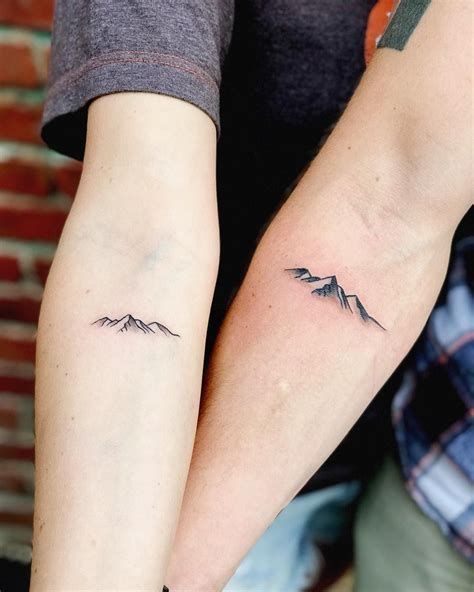 couple back tattoos 50 couples tattoos that are relationshipgoals a
