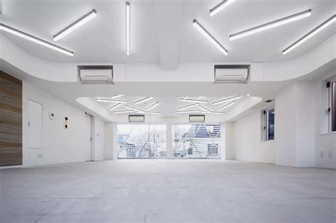 designboom office design amano design transforms tokyo office with contorted fa 231 ade