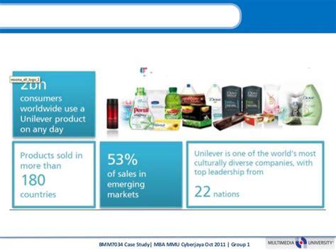 Mba Cyberjaya by Unilever Sustainable Living Plan