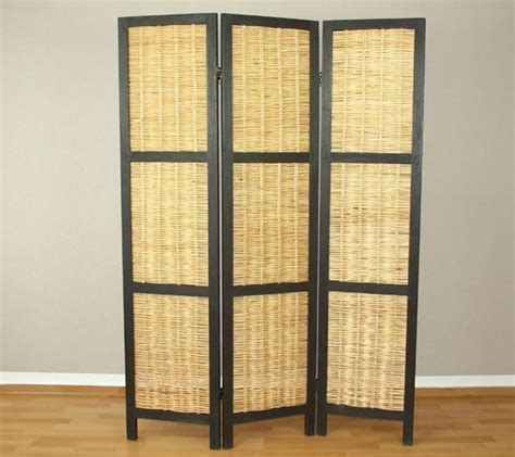 Rattan Room Divider Wicker Room Divider Screen 3 Panel Room Dividers Uk