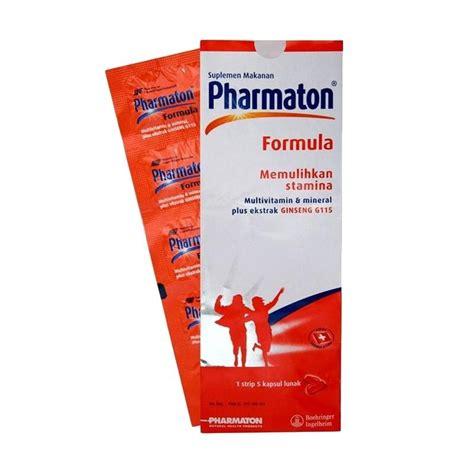 jual pharmaton formula suplemen kesehatan 5 kapsul