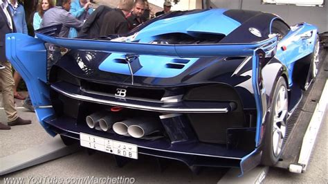 bugatti truck bugatti vision gt runs out of fuel fails to load into
