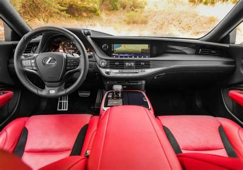 lexus ls interior 2018 2018 lexus ls 500 f sport price interior specs release