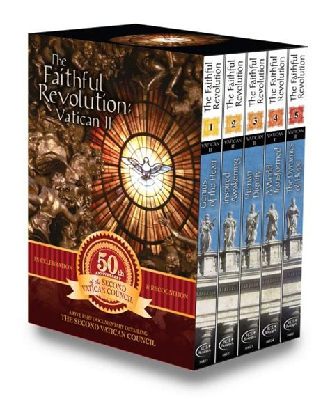 drawing closer to a self guided icon retreat books faithful revolution vatican ii complete series 5 dvd box