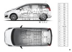 Peugeot 5008 Dimensions Peugeot 5008 Dimensions Ext 233 Rieures Et Int 233 Rieures Forum Peugeot