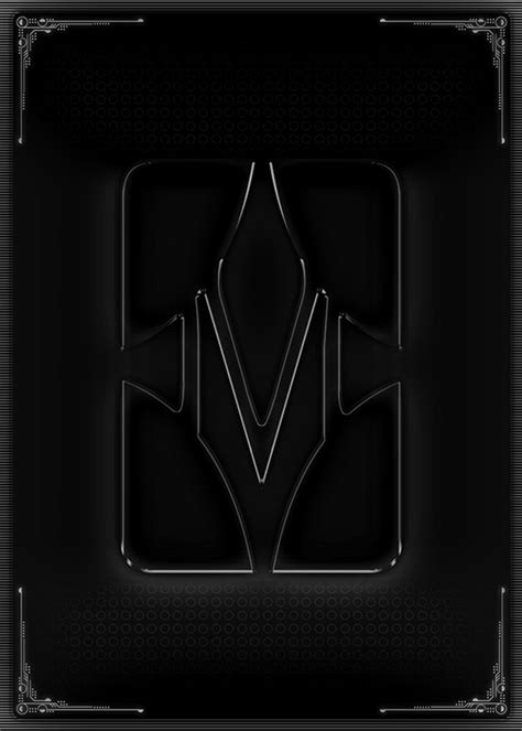 Sci Fi Card Frame Template by Sci Fi Card Template Exle 01 Rear By Unknowndepths