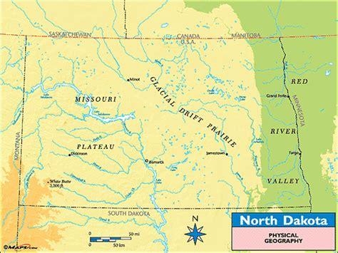 physical map of dakota dakota physical map swimnova