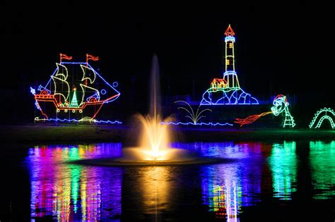 2015 christmas lights in the lake norman and charlotte