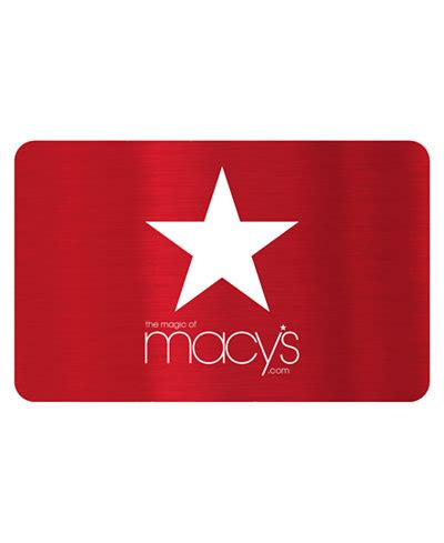 macy s red star e gift card gift cards macy s - G Star Gift Card