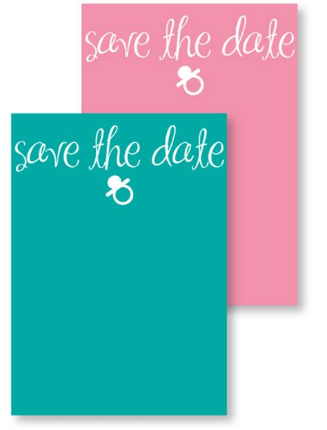 save the date templates for baby shower 10 best photos of save the date baby shower invitation