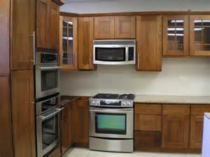 Sleek and sophisticated cherry kitchen cabinets
