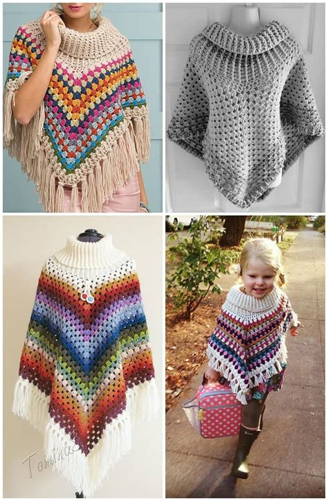 free patterns poncho 50 free crochet poncho patterns for all diy crafts