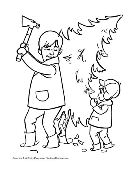 Dr Kid Hitam tree cutting drawing at getdrawings free for