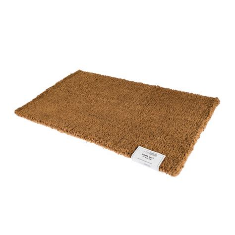 Coir Rubber Door Mat Indoor Outdoor Use Large Wrought Iron Indoor Outdoor Mats Rugs