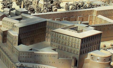 papal apartment floor plan file apostolic palace model jpg wikimedia commons