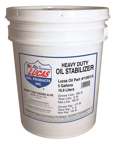 Lucas Motorcycle Stabilizer lucas 10015 h d stabilizer 1x1 5 gallon pail autoplicity