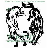 Yin Yang Wolf Tattoos  Cool Eyecatching Tatoos