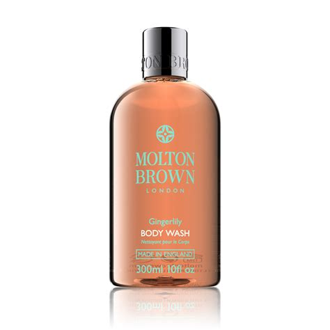 molton brown bath and shower gel molton brown 174 gingerlily bath shower gel shop