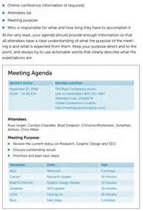 Franklin Covey Templates by 205 Professional Meeting Agenda Templates Demplates