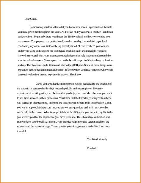 thank you letter after meeting with principal thank you letter after teaching sle 28 images thank