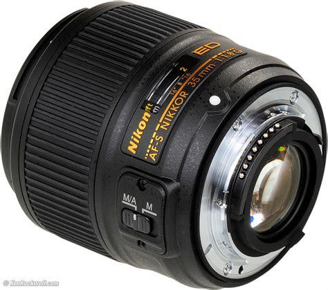 Lensa Nikon 35mm F 1 8g objektivy nikon 35mm f 1 8g af s dx fotakyrecenze eu