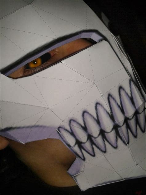 Ichigo Hollow Mask Papercraft - ichigo hollow mask by xtopmadarauchihax on deviantart