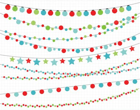 christmas lights clipart images illustrations photos