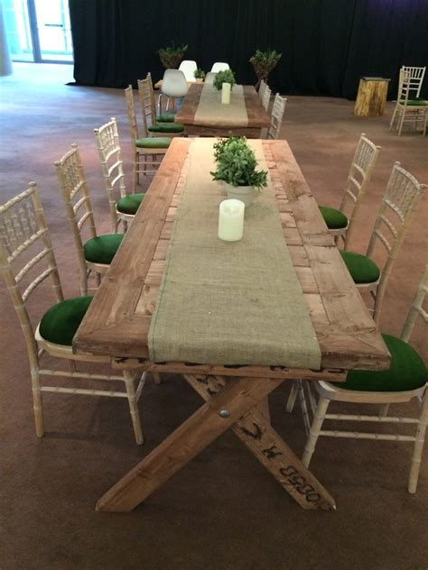 rustic table and chairs hire furniture event hire hire cater hire