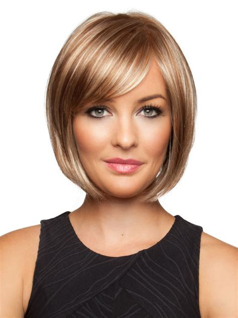 wigs for thin bangs styles jon renau linda lace front monofilament top with