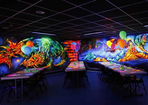Glow Party Room & Private Party Room Options   The Castle Fun Center