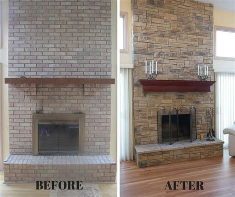 How To Spruce Up A Brick Fireplace by 1000 Images About Fireplace Transformations On