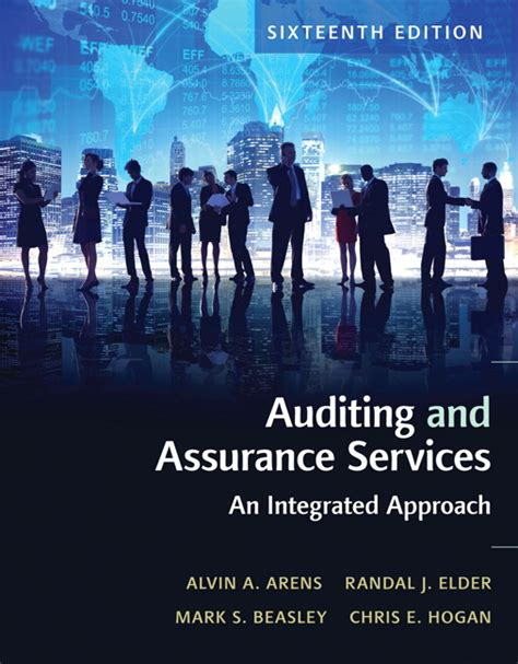 Auditing And Assurance Services 16e Arens test bank for auditing and assurance services 16th