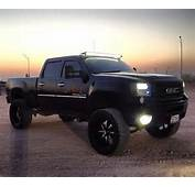 Lifted Black GMC Truck – Pinterest Cars &amp Motorcycles