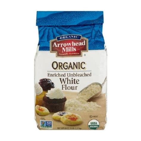 White Flour Shelf by Review Arrowhead Mills Organic Enriched Unbleached Flour