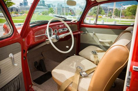 Vw Bug Upholstery by Ruby 1965 Vw Beetle Bring A Trailer