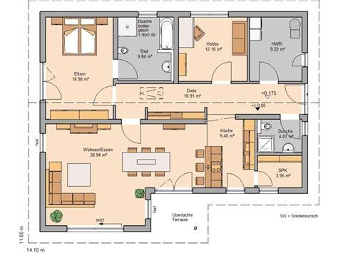 1 schlafzimmer haus grundrisse die 24 besten bilder zu grundriss bungalow auf