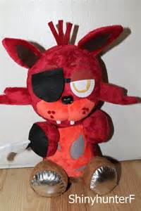 Chibi foxy plush by shinyhunterf on deviantart