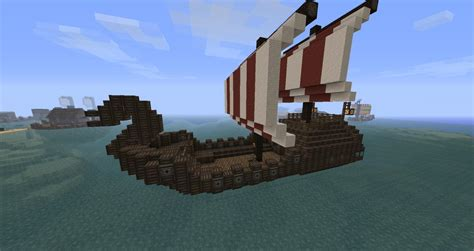 how to make a viking boat in minecraft minecraft simple boat www imgkid the image kid has it