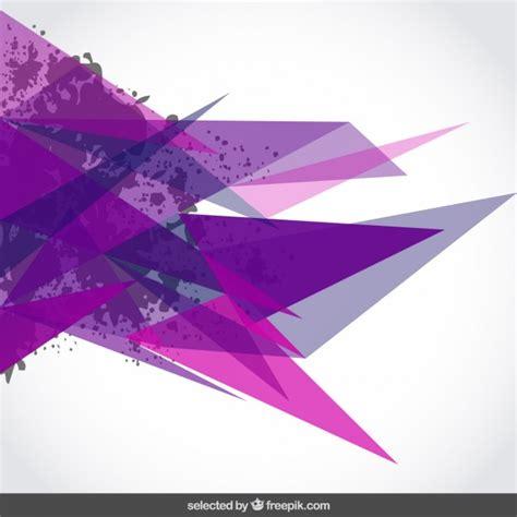 imagenes vectores de triangulos fondo con tri 225 ngulos de color p 250 rpura y manchas