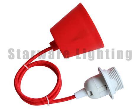Dijamin Steker Multi T Arde Cahaya Model Sc 384 Sni set kabel tekstil diy liontin pencahayaan lu gantung dengan kap lu yang berbeda chandelier