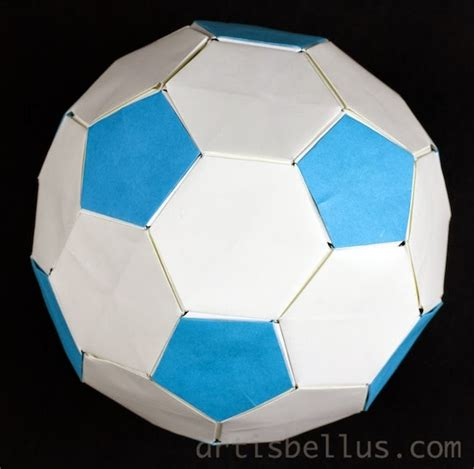 How To Make A Paper Soccer Easy - how to make a origami soccer easy 28 images origami