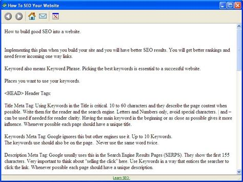 How To Get To Find Your Website Tutorial Seo Freeware Downloads Seo Tutorial Finder For Bbm Users